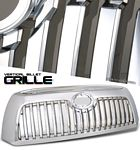 2008 Toyota Tundra Chrome Vertical Grille