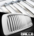 Dodge Ram 3500 2003-2005 Chrome Vertical Grille