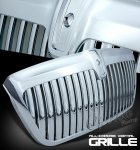 Lincoln Navigator 1998-2002 Chrome Vertical Grille