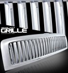 Dodge Ram 3500 1994-2002 Chrome Vertical Grille