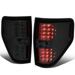 2009 Ford F150 Smoked LED Tail Lights