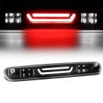 2013 Chevy Silverado 2500HD Black Tube LED Third Brake Light