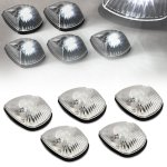 1995 Dodge Ram 3500 Clear White LED Cab Lights