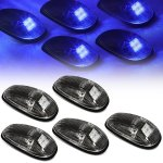 2000 Dodge Ram Black Blue LED Cab Lights