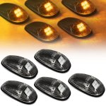 2000 Dodge Ram Black Yellow LED Cab Lights