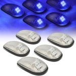 2000 Dodge Ram Clear Blue LED Cab Lights