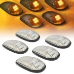 2001 Dodge Ram Clear Yellow LED Cab Lights
