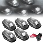 1994 Ford F450 Black White LED Cab Lights