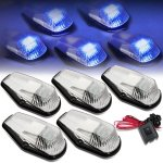 Ford F350 1992-1996 Clear Blue LED Cab Lights