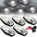 1995 Ford F250 Clear White LED Cab Lights