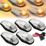 Ford F150 1987-1991 Clear Yellow LED Cab Lights