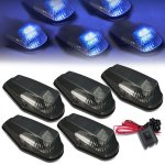 Ford F350 1992-1996 Tinted Blue LED Cab Lights
