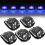 2009 Ford F550 Super Duty Black Blue LED Cab Lights