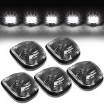 2010 Ford F450 Super Duty Black White LED Cab Lights