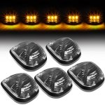 2010 Ford F450 Super Duty Black Yellow LED Cab Lights