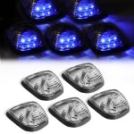 2009 Ford F550 Super Duty Clear Blue LED Cab Lights