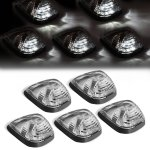2010 Ford F250 Super Duty Clear White LED Cab Lights