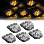 Ford F350 Super Duty 2008-2010 Clear Yellow LED Cab Lights