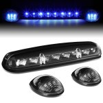 2004 GMC Sierra 3500 Black Blue LED Cab Lights