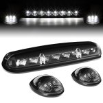 Chevy Silverado 2002-2006 Black White LED Cab Lights