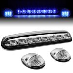 2004 GMC Sierra 3500 Clear Blue LED Cab Lights