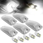 GMC Suburban 1992-1999 Clear White LED Cab Lights
