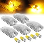 GMC Suburban 1992-1999 Clear Yellow LED Cab Lights