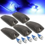 GMC Sierra 2500 1988-1998 Tinted Blue LED Cab Lights