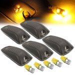 GMC Sierra 3500 1988-1998 Tinted Yellow LED Cab Lights