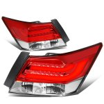Honda Accord Sedan 2008-2012 Tube LED Tail Lights