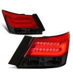 Honda Accord Sedan 2008-2012 Tinted Tube LED Tail Lights