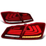 Honda Accord Sedan 2013-2015 Tube LED Tail Lights