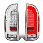 Toyota Tacoma 2005-2015 Clear LED Tail Lights Clear Tube