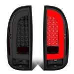 Toyota Tacoma 2005-2015 Smoked Tube LED Tail Lights