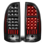 Toyota Tacoma 2005-2015 Black LED Tail Lights