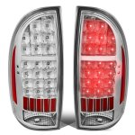 Toyota Tacoma 2005-2015 Clear LED Tail Lights