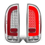 Toyota Tacoma 2005-2015 Clear Tube LED Tail Lights