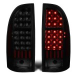 Toyota Tacoma 2005-2015 Black Smoked LED Tail Lights