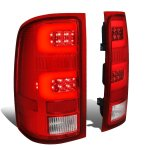 2011 GMC Sierra Tube LED Tail Lights