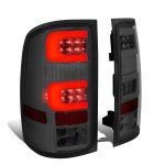 GMC Sierra 2007-2013 Smoked Tube LED Tail Lights