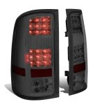 GMC Sierra 2007-2013 Smoked LED Tail Lights