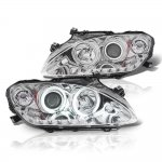 Honda S2000 2004-2009 Projector Headlights Chrome CCFL Halo LED DRL