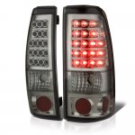 Chevy Silverado 1999-2002 LED Tail Lights Smoked