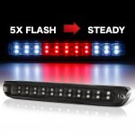 2012 Chevy Colorado Black Flash LED Third Brake Light