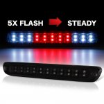 2012 Chevy Colorado Black Smoked Flash LED Third Brake Light