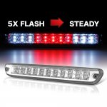 Chevy Colorado 2004-2012 Clear Flash LED Third Brake Light