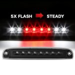 Dodge Dakota 1997-2010 Black Flash LED Third Brake Light
