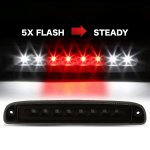 Dodge Dakota 1997-2010 Black Smoked Flash LED Third Brake Light