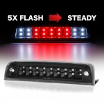 2010 Dodge Ram 3500 Black Flash LED Third Brake Light