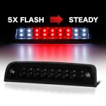 2010 Dodge Ram 2500 Black Smoked Flash LED Third Brake Light